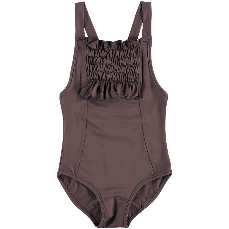 Swimsuit SMOCKED WITH RUFFLE DETAIL...