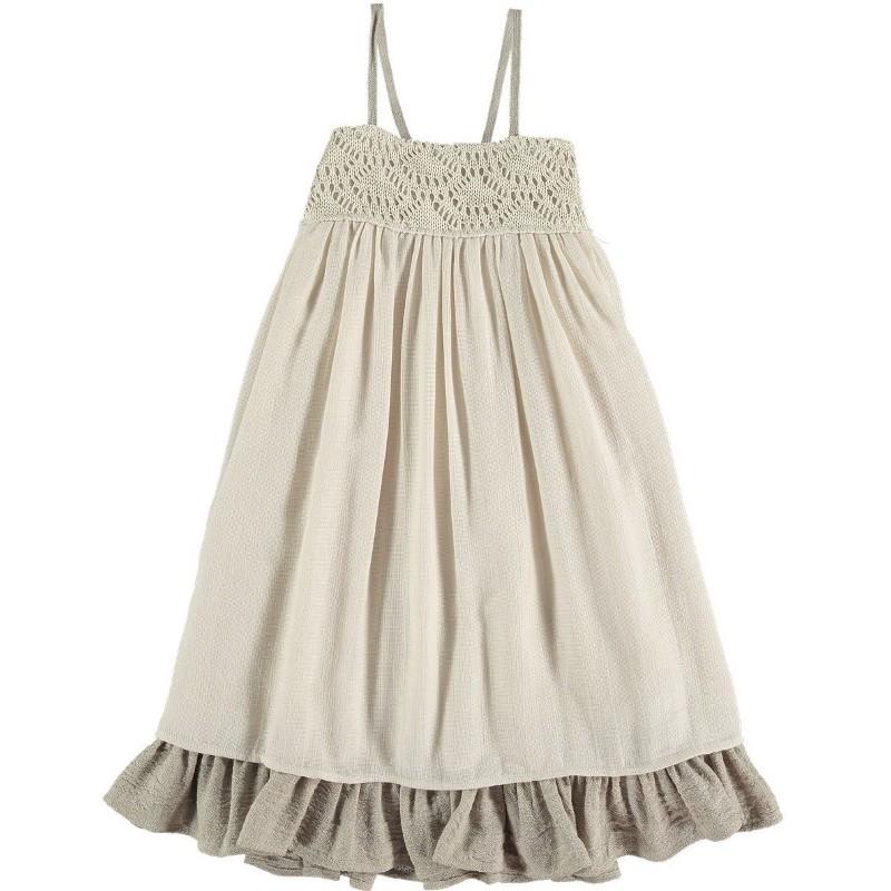 Dress Strappy RAFFIA'S CROCHET