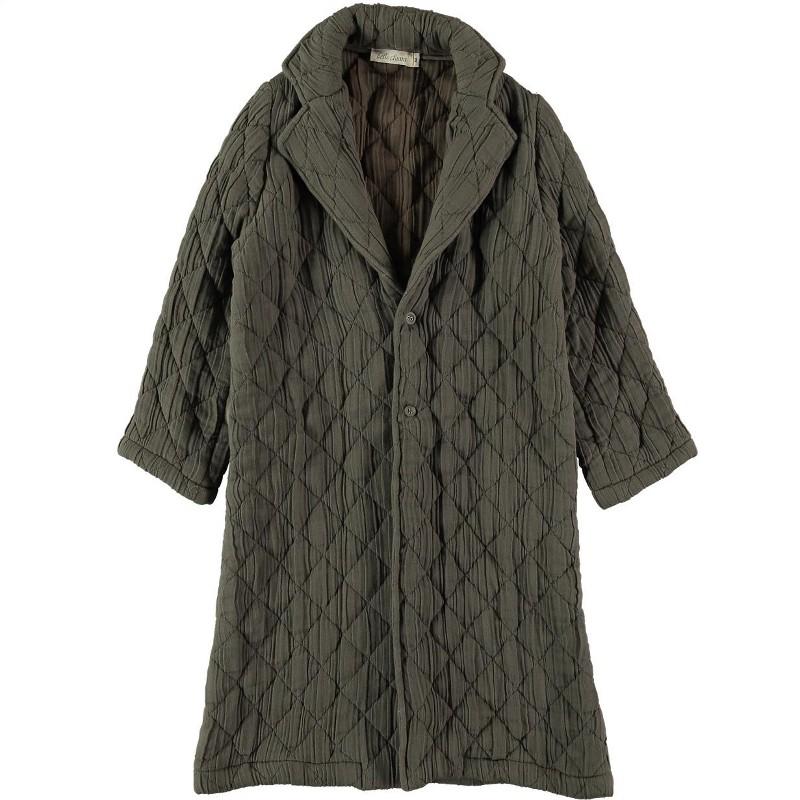 A01-Coat PADDED Gray