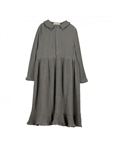V08- Shirt Dress MOUSSELINE...