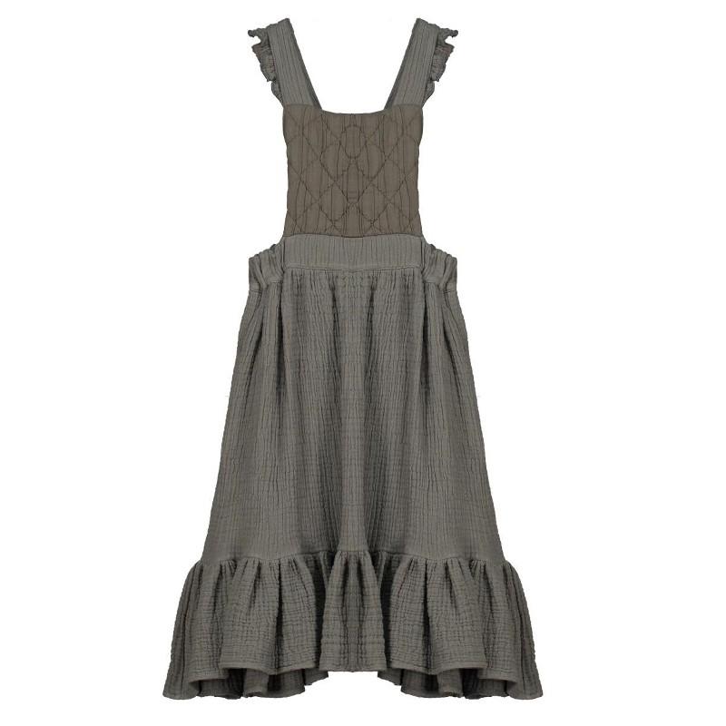 F06-Skirt with BIB Gray
