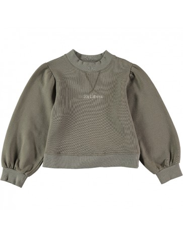 SU04-Sweatshirt EX LIBRIS Gray