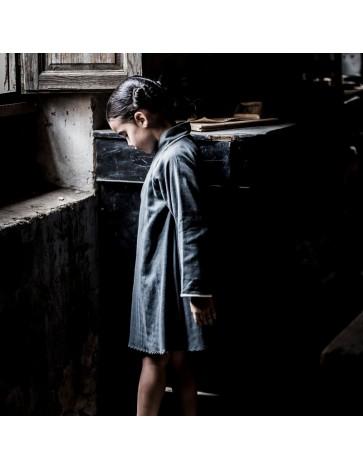 V01 - Vestido TRAPECIO - Gris