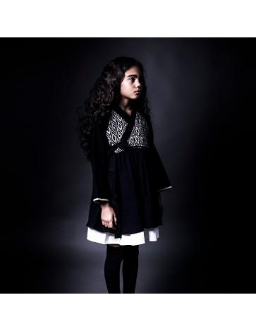 V07 - Vestido HANBOK DRESS - Negro