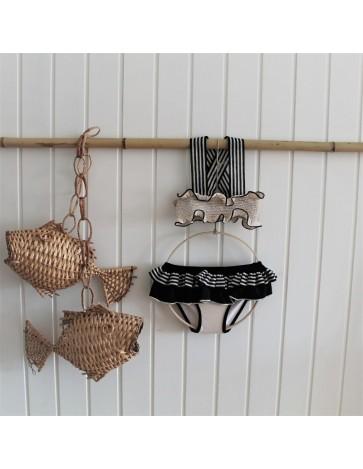 BK03-Bikini RAYAS - Beige