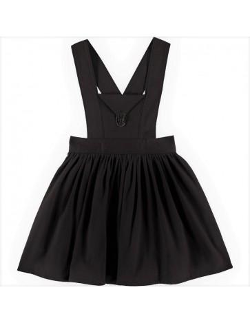 F03-Falda PETO SARGENT Negra