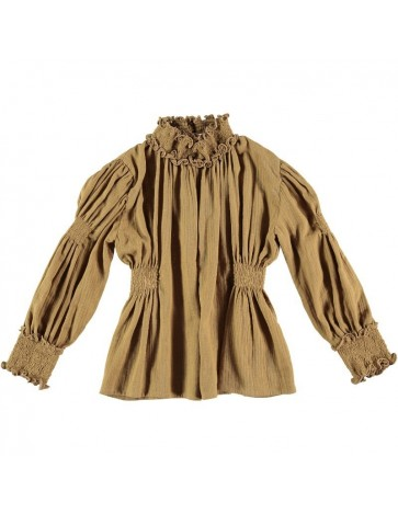 B02-Blusa DE LA TOUR Old Gold