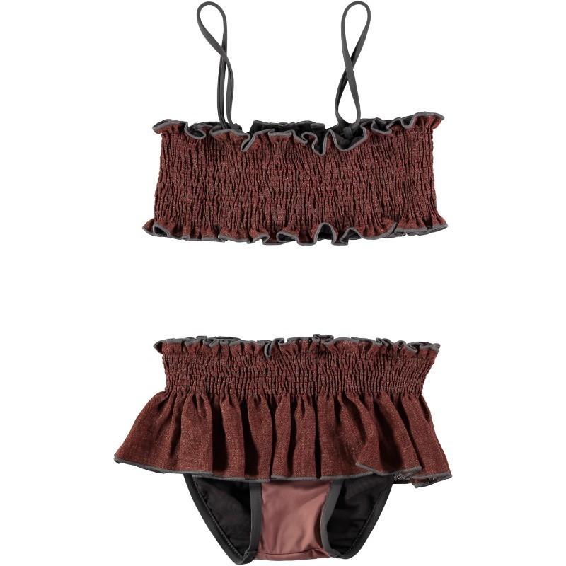 BK02-Bikini LINO+LYCRA Caldera + Rosa