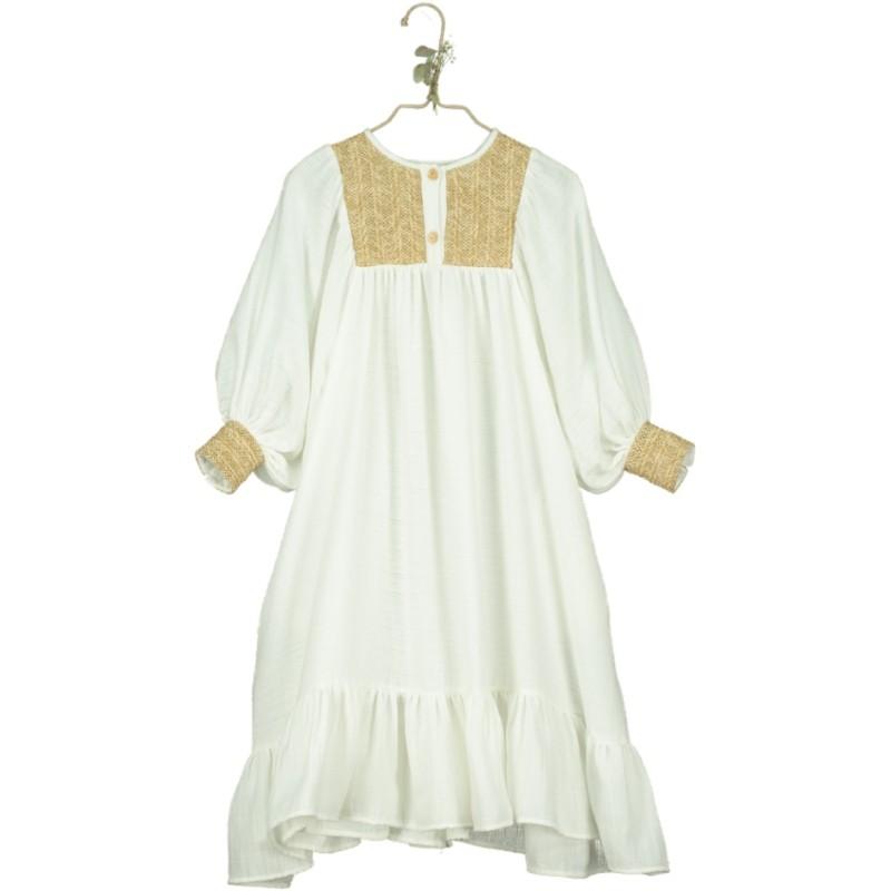 V02-Dress RAFFIA LONG