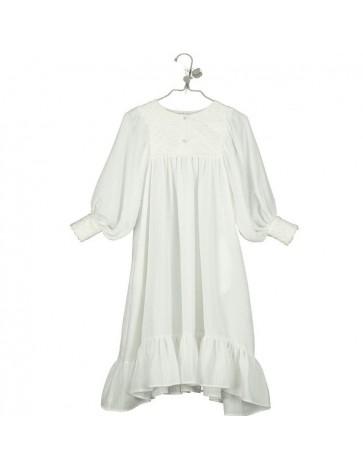 V02.1-Dress Embroidered Long