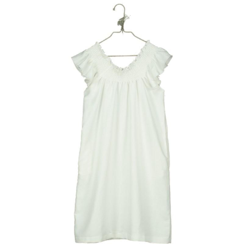 V01-Dress LONG Beige