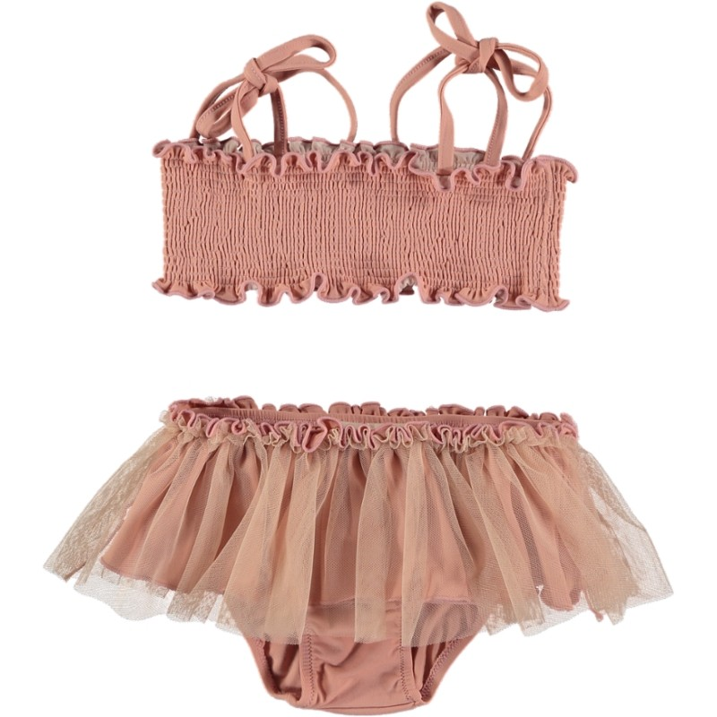 BK05-Bikini Set TUTU Pink