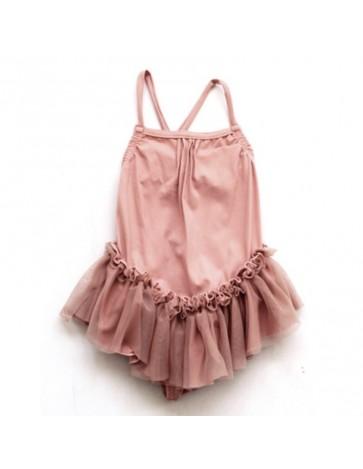BA07-Swimsuit TUTU Pink