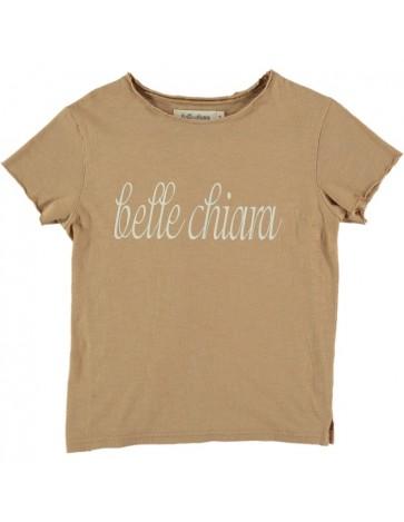 CA01-T-shirt LOGO Raffia