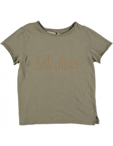 CA01-T-shirt LOGO Khaki