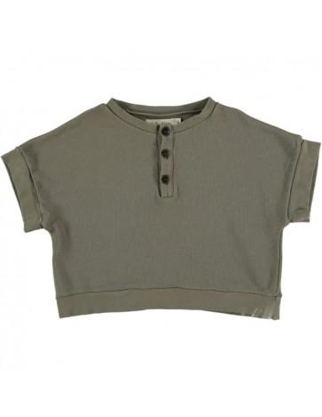 SU01-Sweatshirt OVERSIZE Khaki