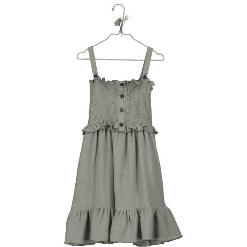 VP02-Dress SMOCKED Khaki