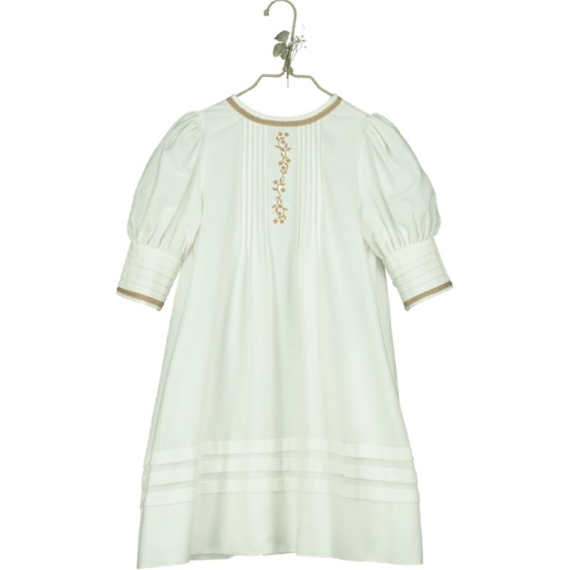 V05-Dress PETTICOAT Beige