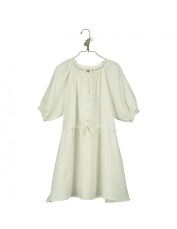 V03-Dress RAGLAN SLEEVE Beige