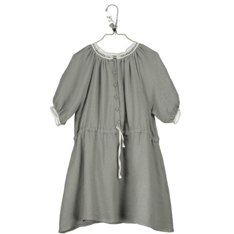 V03-Dress RAGLAN SLEEVE Khaki