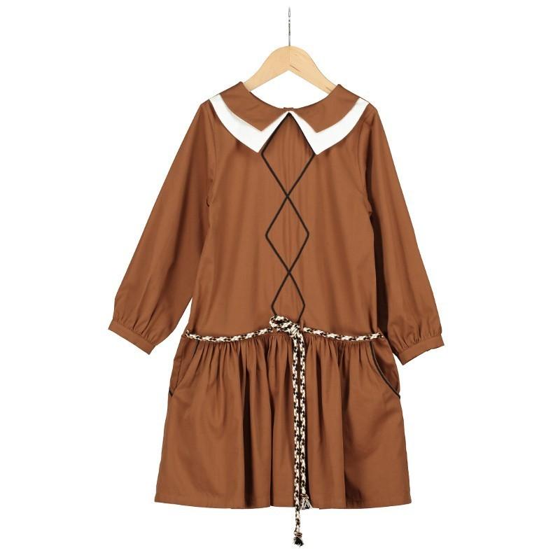V08 - Vestido DOBLE CUELLO DOS POSICIONES