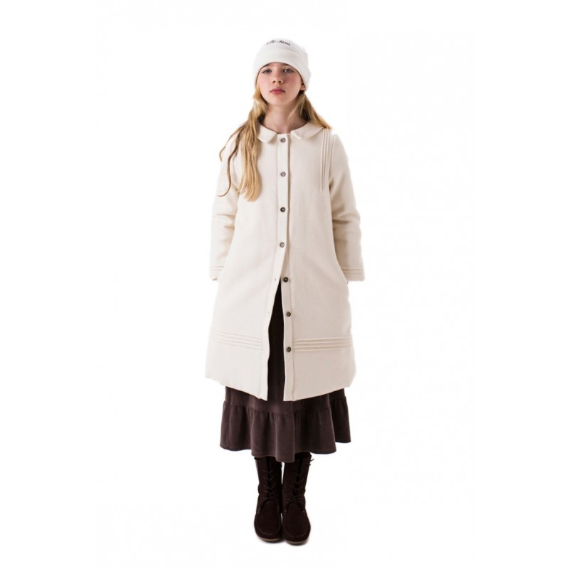 Coat PADDED Beige