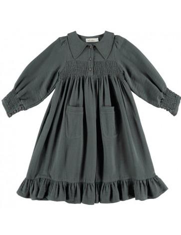 Dress SMOCKED POCKETS