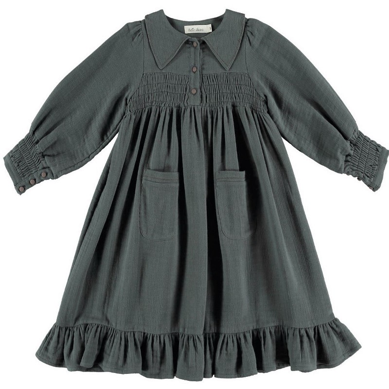 Dress SMOCKED POCKETS