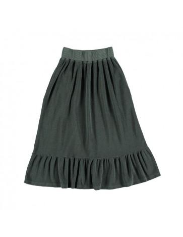Skirt RUFFLE Dark Greenish...