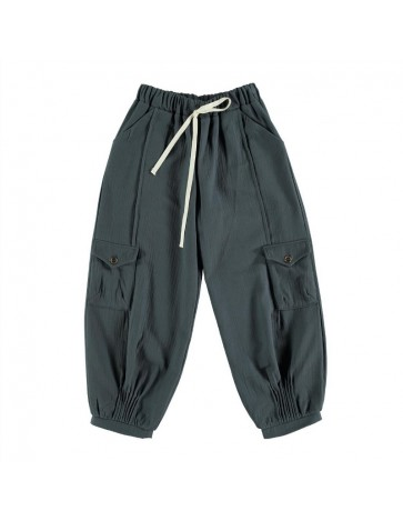 Pant WITH POCKETS Washed Blue