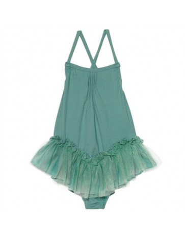 BA07-Swimsuit TUTU Aquamarine